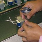 コアテープ巻き工程